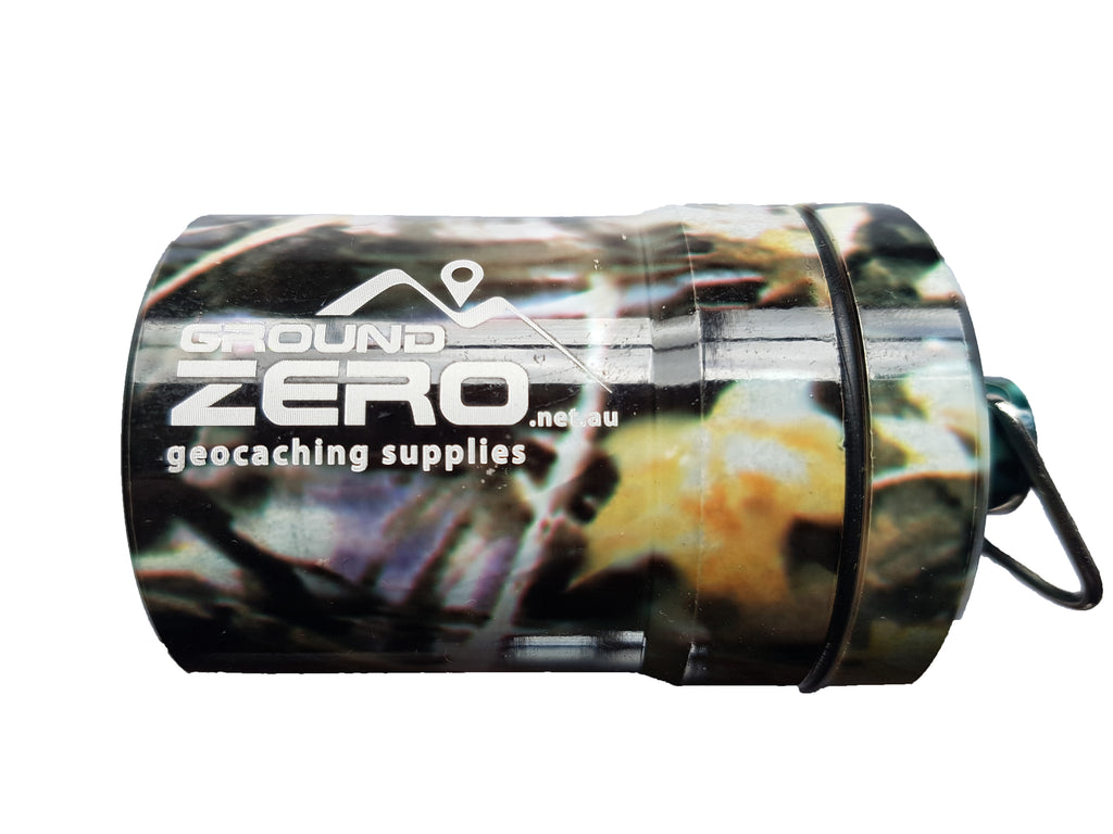 Ground Zero Geocaching Supplies - Large Bison Tube Geocache