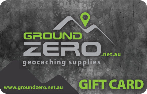 Gift Card - Ground Zero Geocaching Supplies