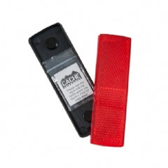 Ground Zero Geocaching Supplies - Red Reflector Geocache