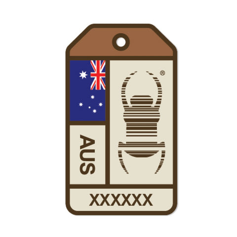 Travel Bug Origins Sticker- Australia