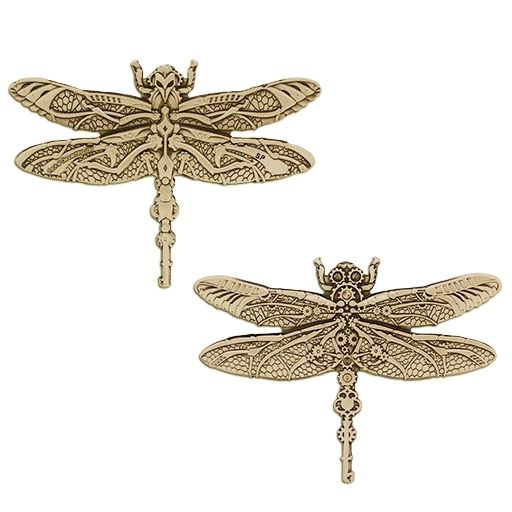 Steampunk Dragonfly Geocoin