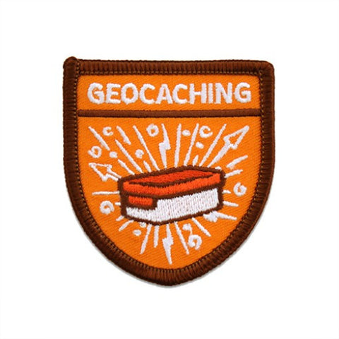 Geocaching Scout Patch - Ground Zero Geocaching Supplies