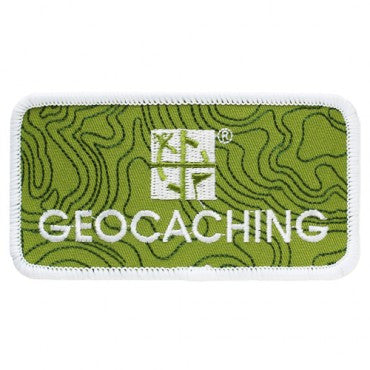 Geocaching Logo Patch - Ground Zero Geocaching Supplies