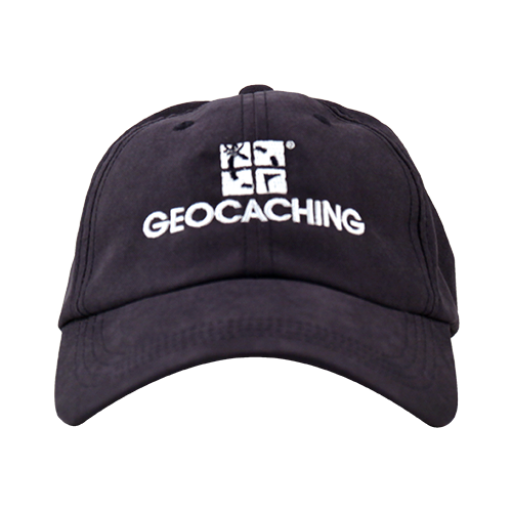 Geocaching Logo Cap - Navy - Ground Zero Geocaching Supplies