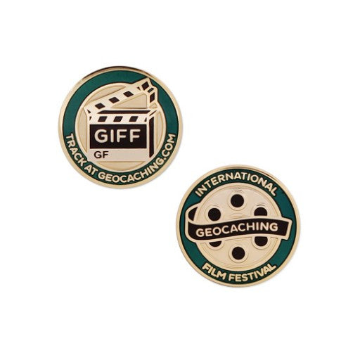 GIFF Micro Geocoin - Ground Zero Geocaching Supplies