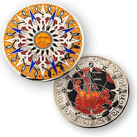 10th Anniversary Compass Rose Geocoin -  Pyxis