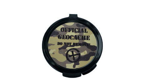 Black Beulah Geocache Container - Ground Zero Geocaching Supplies