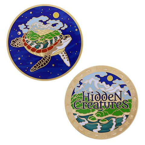 Hidden Creatures Geocoin and Trackable Tag Set