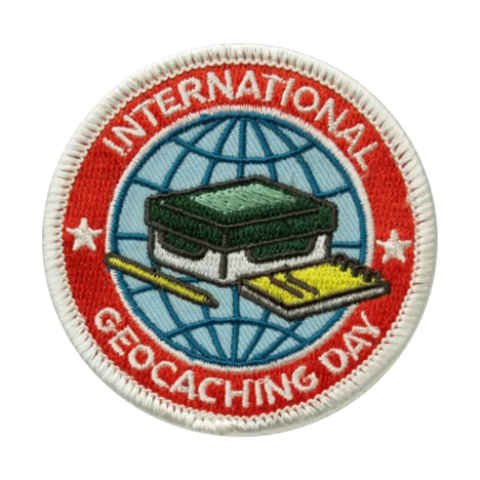 2016 International Geocaching Day Patch - Ground Zero Geocaching Supplies