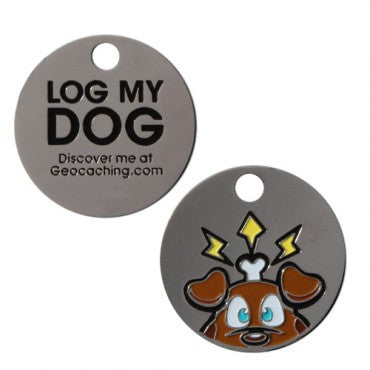 Log My Dog Tag - Ground Zero Geocaching Supplies