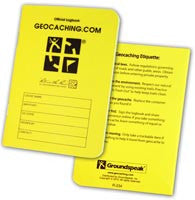 Official Medium RITR - 24 Sheet All Weather Logbook - Ground Zero Geocaching Supplies