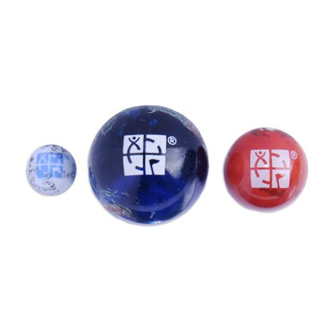 Earth, Moon, Mars Marble Set - Ground Zero Geocaching Supplies  - 1