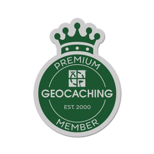 Premium Member Sticker - Ground Zero Geocaching Supplies