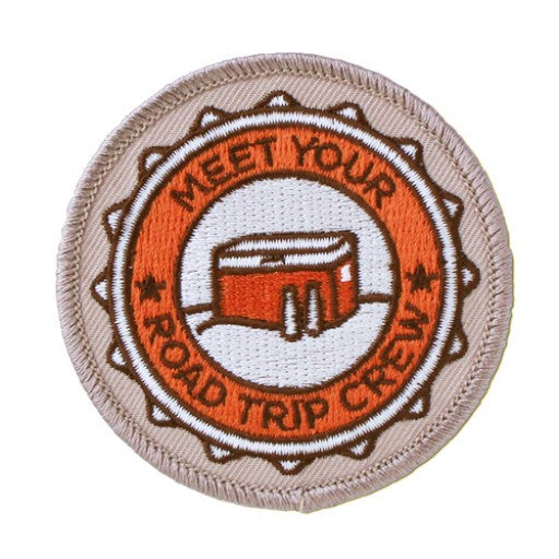 Geocaching Road Trip '15 Patch: Meet Your Road Trip Crew - Ground Zero Geocaching Supplies