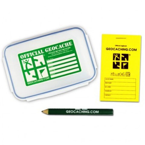 Official Medium Geocache with Logbook and Pencil