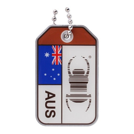 Origins Travel Bug  - Australia - Ground Zero Geocaching Supplies