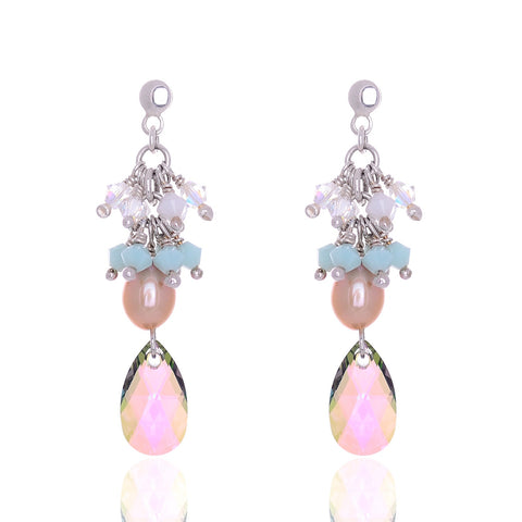 Aretes CHARLOTE PEACOCK