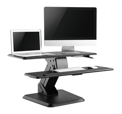Furna Sit Stand Converter Desk Top Workstation