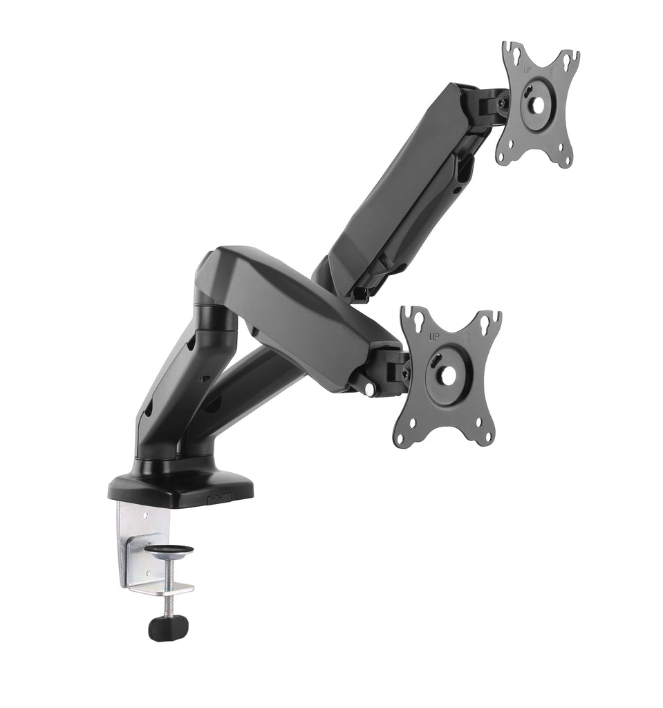 Furna Dual Monitor Gas Spring Long Arm Desk Mount