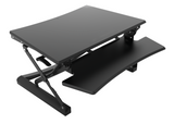 Furna Sit Stand Gas Adjustable Desk-Top Workstation