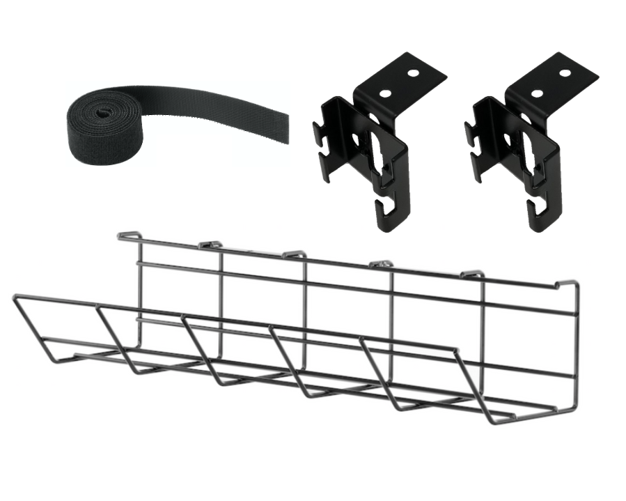 Furna Under Desk Cable Management Tray - 500mm
