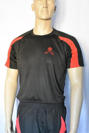 Physical Training Contrasting Sweat Wicking T-Shirt 1706