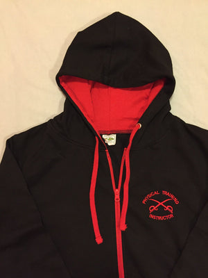 AAPTI/ PTI Gym Hoodie (Black & Red) 1610 - C1000 Stitches