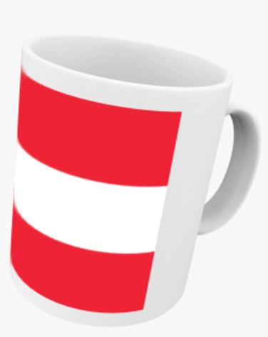 World Flags (A) Mug Coffee/ Tea Mug. Personalised Mug Gift.