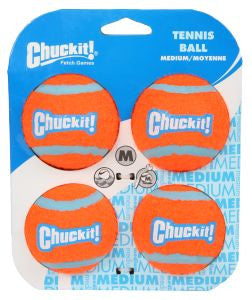 Chuckit Tennis Ball 4 pack