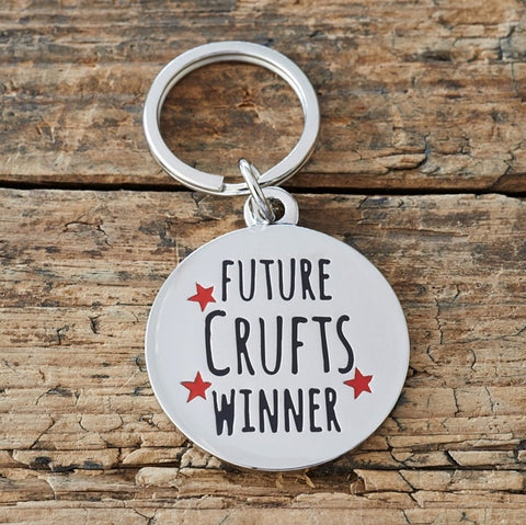 "Sweet William ID Tag - ""Future Crufts Winner"""