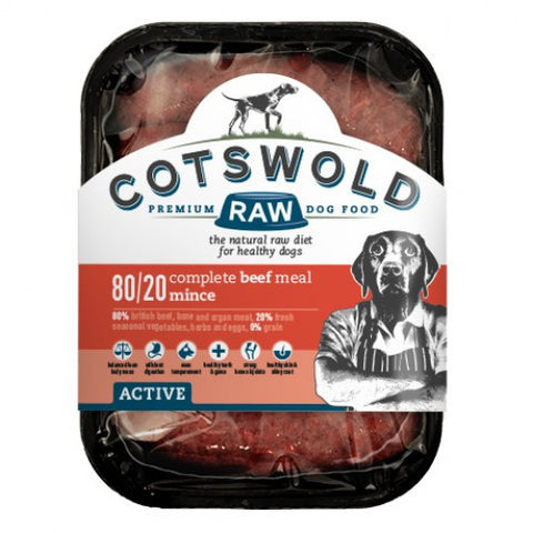Cotswold Raw Active 80/20 Beef Mince
