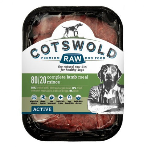 Cotswold Raw Active 80/20 Lamb Mince