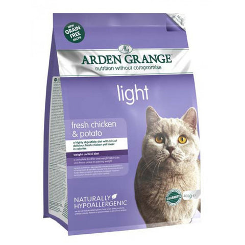 Arden Grange Adult Cat Food Light