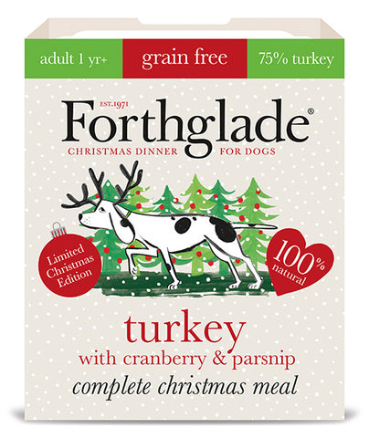 Forthglade Complete Adult Grain Free Turkey with Cranberry & Parsnip 395g