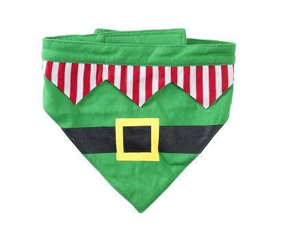 House of Paws Christmas Elf Bandanas