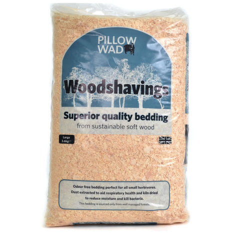 Pillow Wad Woodshavings