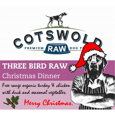 Cotswold Raw Festive Three Bird Raw