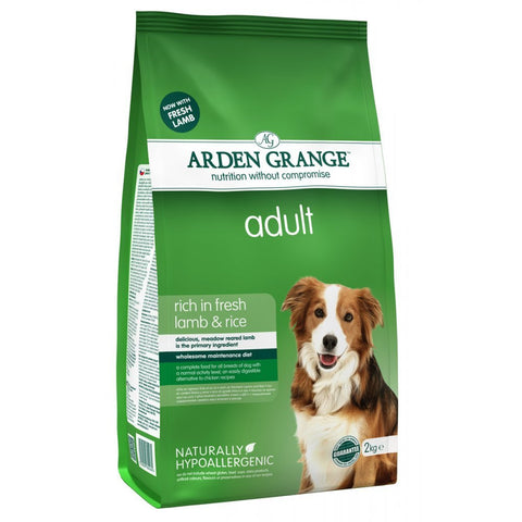 Arden Grange Adult Dog Food Fresh Lamb & Rice