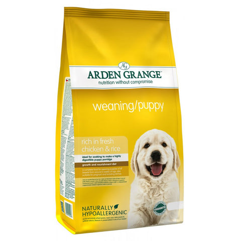 Arden Grange Dry Dog Food Weaning/Puppy Fresh Chicken & Rice