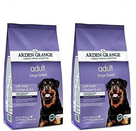 Arden Grange 12kg Bag Deal Adult Dog Large Breed Fresh Chicken & Rice
