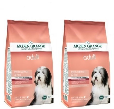 Arden Grange 12kg Bag Deal Adult Dog Food Fresh Salmon & Rice