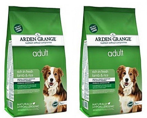 Arden Grange 12kg Bag Deal Adult Dog Food Fresh Lamb & Rice