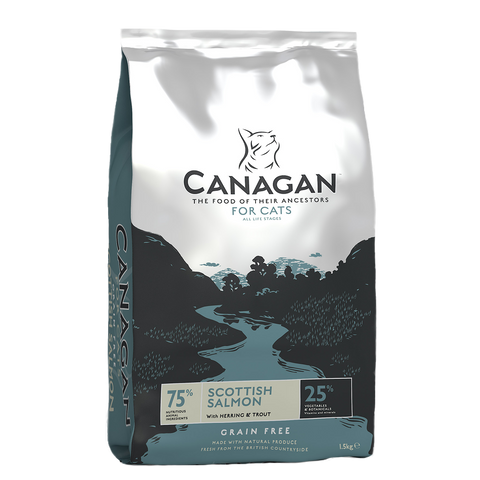 Canagan Scottish Salmon Dry Food for Cats