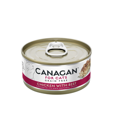 Canagan Wet Food for Cats - Chicken with Beef