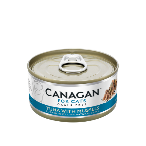 Canagan Wet Food for Cats - Tuna with Mussels