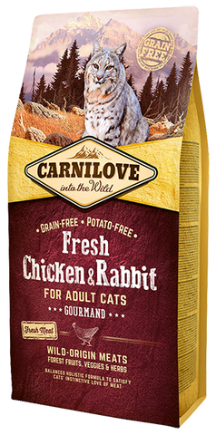 Carnilove Adult Cat - Fresh Chicken and Rabbit