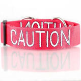 Friendly Dog Collars - Caution