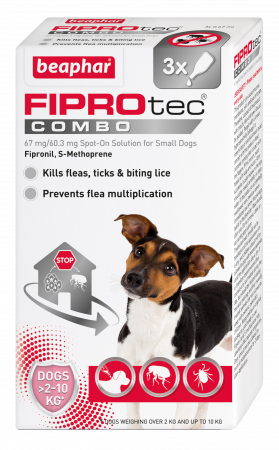 Beaphar FIPROtec COMBO Flea and Tick for Dogs