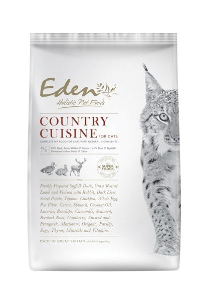 Eden Country Cuisine Dry Cat Food – Grovely Pets on