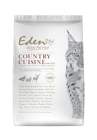 Eden Country Cuisine Dry Cat Food